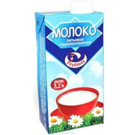 Глубокое Молоко питьевое стерилизованное 3,2% , 1 л