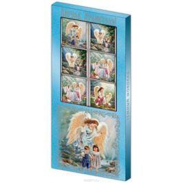 Дилан+ Шоколадный набор Ангела Хранителя синий, 10 шт по 5 г