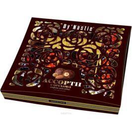 Династия ассорти конфет с орехами в темном шоколаде, 210 г