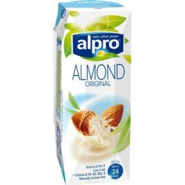 Alpro Миндальный напиток, обогащенный кальцием и витаминами, 0,25л