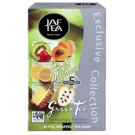 Jaf Tea Fruit Melange ассорти чай зеленый в пакетиках, 20 шт