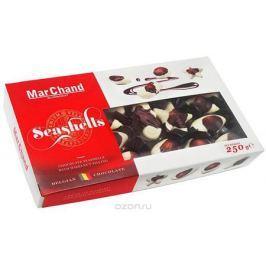 MarChand ракушки шоколадные конфеты, 250 г