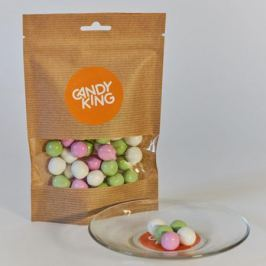 Candy King Мятные жемчужины драже сахарное с ментоловым вкусом, 100 г