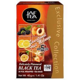 Jaf Tea Sensational Fruit Melange ассорти чай черный в пакетиках, 20 шт