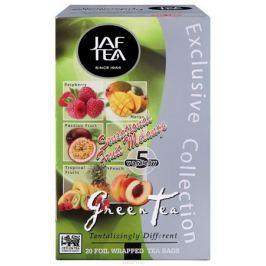 Jaf Tea Sensational Fruit Melange ассорти чай зеленый в пакетиках, 20 шт