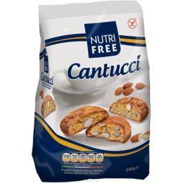 Nutrifree Cantucci печенье с кусочками миндаля, 240 г