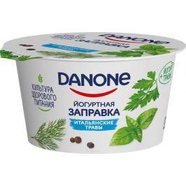 Danone Йогуртная заправка Итальянские травы 3%, 140 г