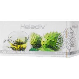 Heladiv Peko Soursop Green Tea чай зеленый в пакетиках с ароматом саусепа, 25 шт