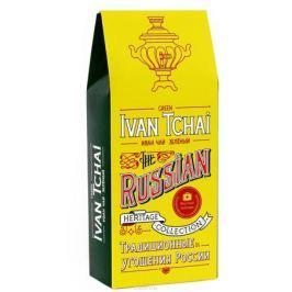 Вкусная помощь Иван-чай зеленый листовой чай, 70 г