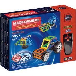 MAGFORMERS Магнитный конструктор Funny Wheel Set 20, MAGFORMERS