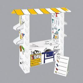 Mochtoys Игровой картонный домик-раскраска