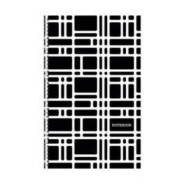 Listoff Орнамент. Черно-белый, клетка