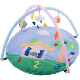 - Детский игровой коврик с погремушками на подвеске в сумке