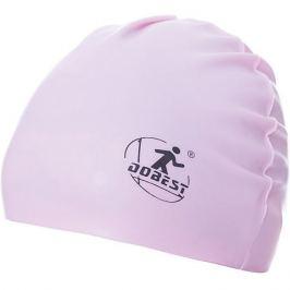 Dobest Силиконовая шапочка для плавания Dobest, розовая