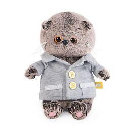 Budi Basa Мягкая игрушка Budi Basa Кот Басик Baby в сером пиджачке, 20 см
