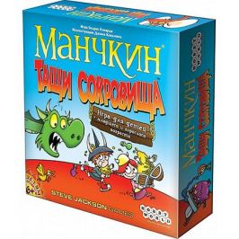 Hobby World Настольная игра Hobby World Манчкин Тащи сокровища