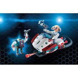 PLAYMOBIL® Конструктор PlaymobilСкайджет с Доктором Х и Робот