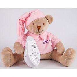 Drema BabyDou Игрушка для сна Медведь DrЁma BabyDou с белым и розовым шумом,