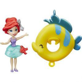Hasbro Кукла принцесса, плавающая на круге Ариэль, Принцессы Дисней, Hasbro