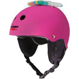 Wipeout Зимний шлем Wipeout Neon Pink с фломастерами,