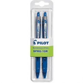 Pilot Шариковые ручки Pilot 0,7 мм 2 шт, синие