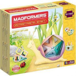 MAGFORMERS Магнитный конструктор My First Pastel Set 30, MAGFORMERS
