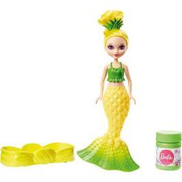 Mattel Маленькая русалочка Barbie с пузырьками, в жёлтом