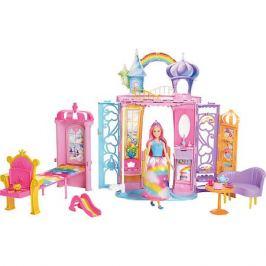 Mattel Домик для куклы Barbie Переносной радужный дворец