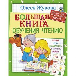 Издательство АСТ Большая книга обучения чтению, О. Жукова