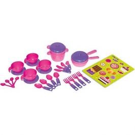 Zebratoys Набор игрушечной посудки Zebratoys