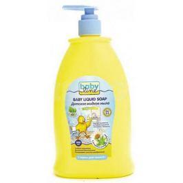 Babyline Детское жидкое мыло 500 мл. с дозатором, BABYLINE