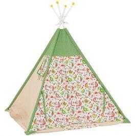 Polini-kids Палатка-вигвам детская Polini Кантри, зеленая