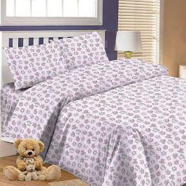 Letto Детское постельное белье 3 предмета Letto, простыня на резинке, BGR-66