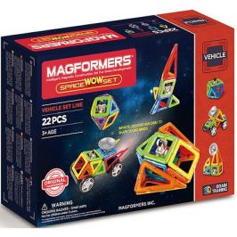MAGFORMERS Магнитный конструктор Space Wow, MAGFORMERS