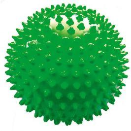 Малышок Мяч ёжик зеленый, 18 см, МалышОК