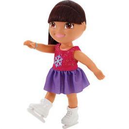 Mattel Кукла Даша-путешественница на катке, Fisher Price