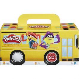 Hasbro Набор пластилина Play-Doh, 20 баночек