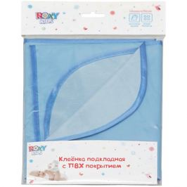 Roxy-Kids Клеенка подкладная с ПВХ покрытием, Roxy-Kids, синий