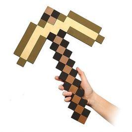 Pixel Crew Пиксельная кирка, золотая, 45 см, Minecraft
