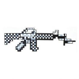 Pixel Crew Пиксельный автомат, серый, 62 см, Minecraft