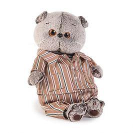 Budi Basa Мягкая игрушка Budi Basa Кот Басик в шелковой пижамке, 25 см
