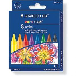 Staedtler Мелок восковой Noris Club Jumbo, 8 цветов, Staedtler