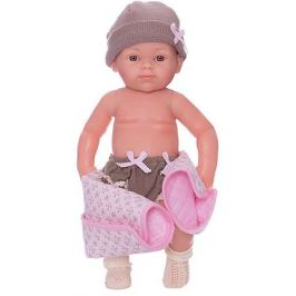 Paola Reina Кукла Paola Reina Бэби, рюкзак и одеяльце, розовый, 32 см
