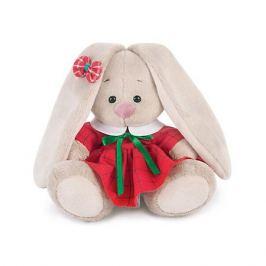 Budi Basa Мягкая игрушка Budi Basa Зайка Ми в красном платье в клетку, 15 см