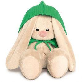Budi Basa Мягкая игрушка Budi Basa Зайка Ми в зеленом пончо, 15 см