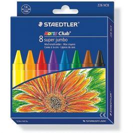 Staedtler Мелок восковой Noris Club Super Jumbo, 8 цветов, Staedtler