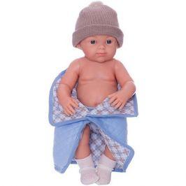 Paola Reina Кукла Paola Reina Бэби, рюкзак и одеяльце, голубой, 32 см