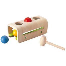 Plan Toys PLAN TOYS 5348 Доска с молоточком и шариками