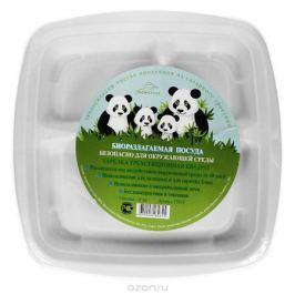 Набор квадратных био-тарелок