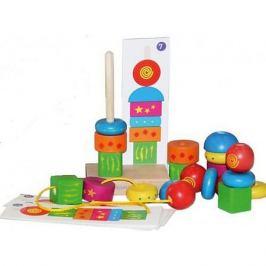 Краснокамская игрушка Деревянная пирамидка Краснокамская игрушка